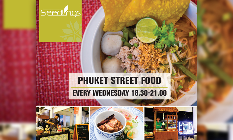 Phuket Street Food, Seedlings Restaurant
