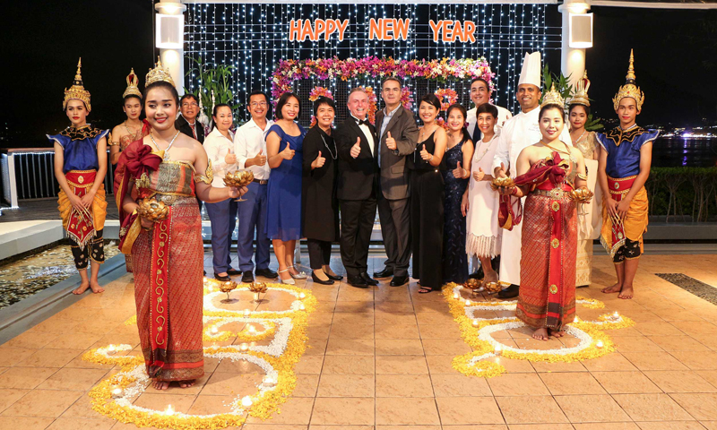 Amari Phuket team gets together for 2019 New Year's Celebration