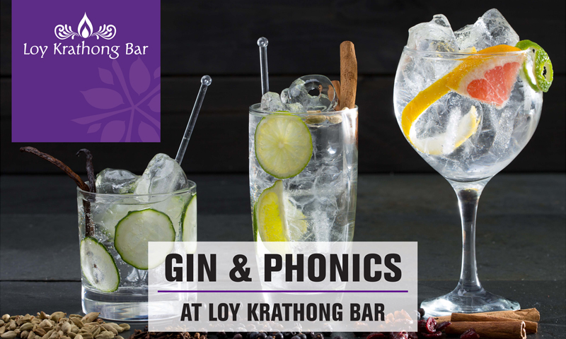 GIN & PHONICS, Loy Krathong Bar