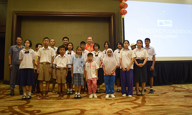 "JW Marriott Phuket Resort & Spa Provides  Annual ""Heinecke Foundation"" Scholarship to 56 Students"