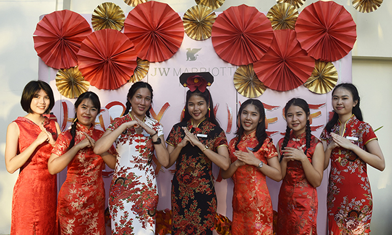 """""""Gong Xi Fa Cai"""" JW Marriott Phuket Celebrates Chinese Lunar New Year 2019 in Traditional Style"""