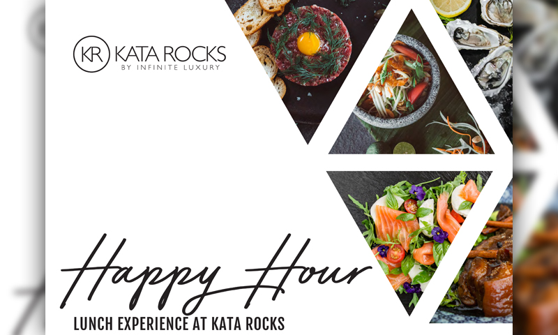 Happy Hour Lunch Experience at Kata Rocks