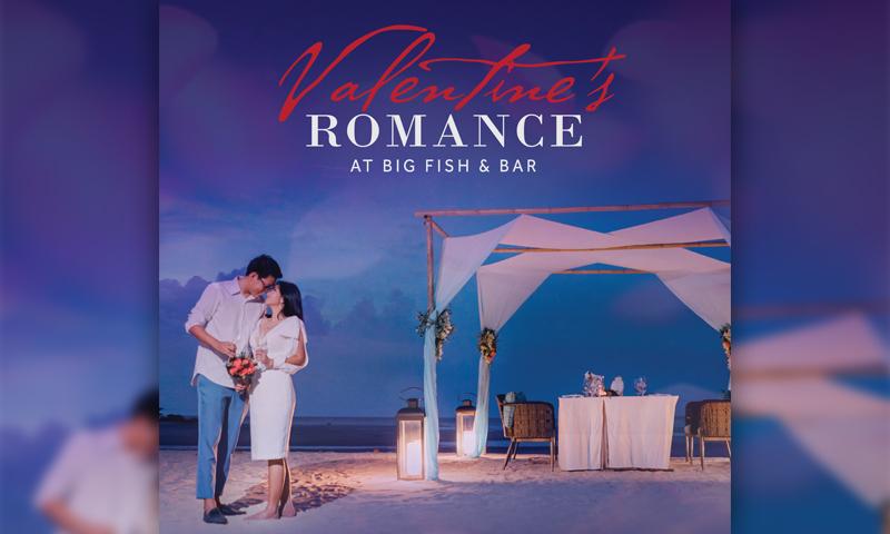 Valentine's Romance at Big Fish & Bar, Phuket Marriott Resort and Spa, Nai Yang Beach