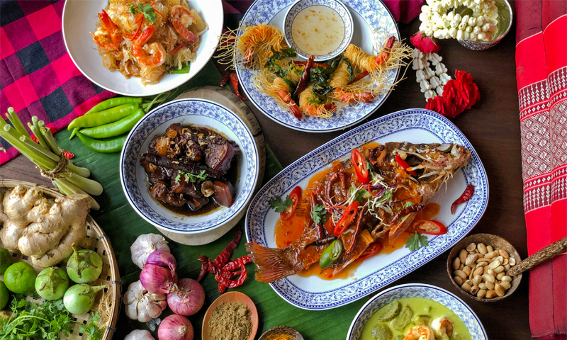 Celebrate Songkran at The Andaman Kitchen