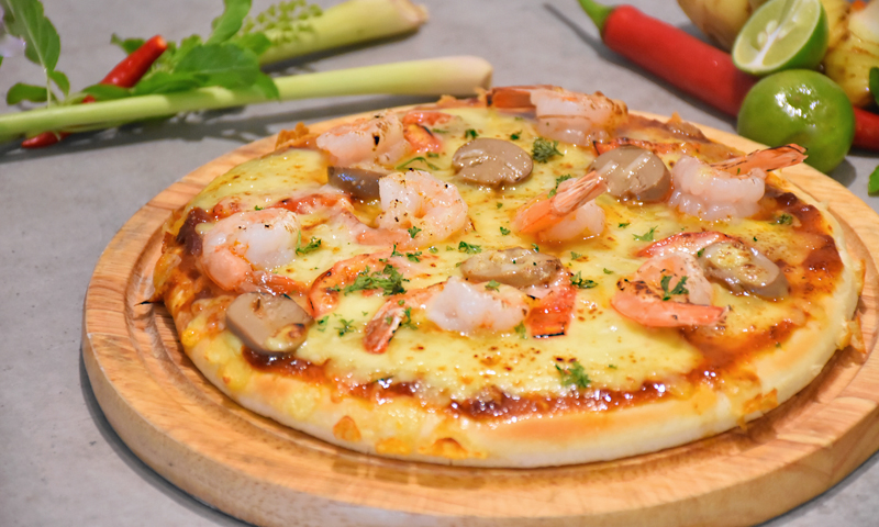 "Promotion: Taste of ""Homemade Pizza Tom Yum Kung"", Deevana Patong Resort & Spa"