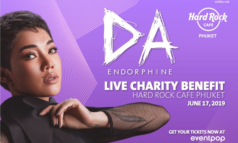 Da Endorphine Live Charity Benefit | Hard Rock Cafe Phuket Support Destination Kids Foundation