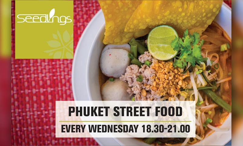Phuket Street Food at Seedlings by Angsana Villa Resort Phuket