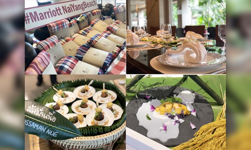 Media Mixer Volume II: Phuket Marriott Resort and Spa, Nai Yang Beach Unveils New Authentic Thai Menu