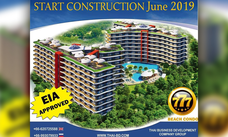 Thai business development company group: Accomplish condominium projects ahead of schedule