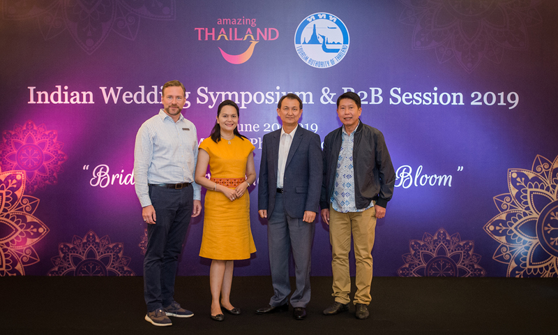 TAT hosts Indian wedding symposium & B2B session 2019 @ JW Marriott Phuket