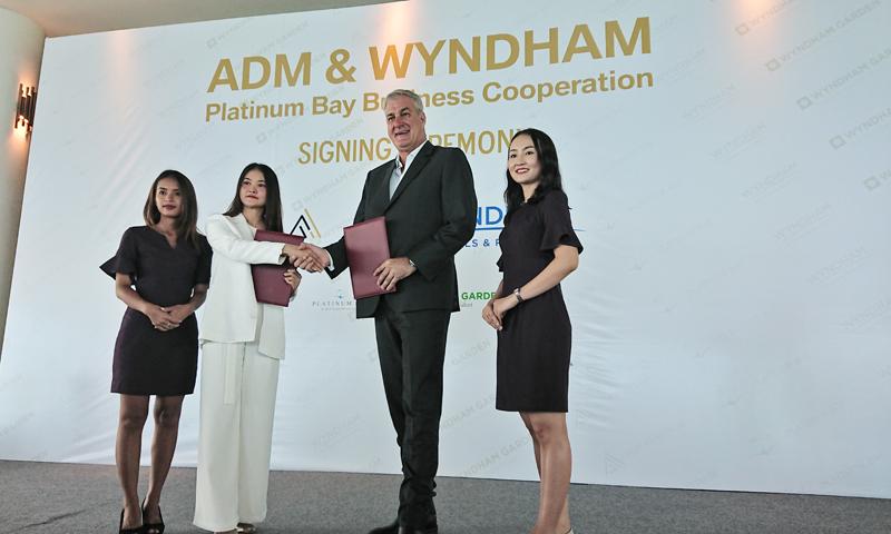 Signing ceremony has been held between New World ADM Platinum & Wyndham Garden