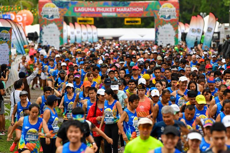 Filipino and Japanese runners shine at 2019 Laguna Phuket Marathon 12,000-plus runners from all walks of life make 2019 a record turnout