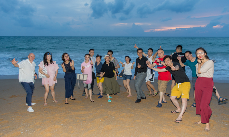 Splash Beach Resort hosts TCEB Chinese Mice Fam Group 2019