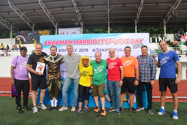 "JW Marriott Phuket Resort & Spa Joined The 3rd Annual ""Andaman Marriott Sports Day 2019"""
