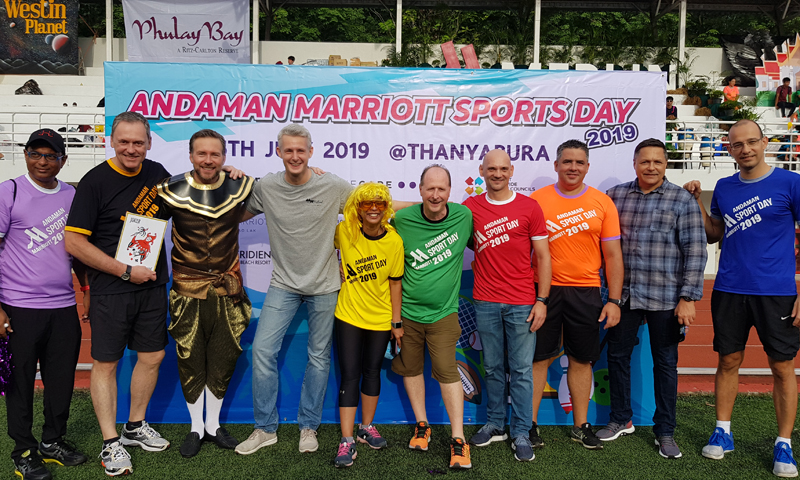 "Phuket Marriott Resort and Spa, Nai Yang Beach hosted 3rd Annual ""Andaman Sports Day"""