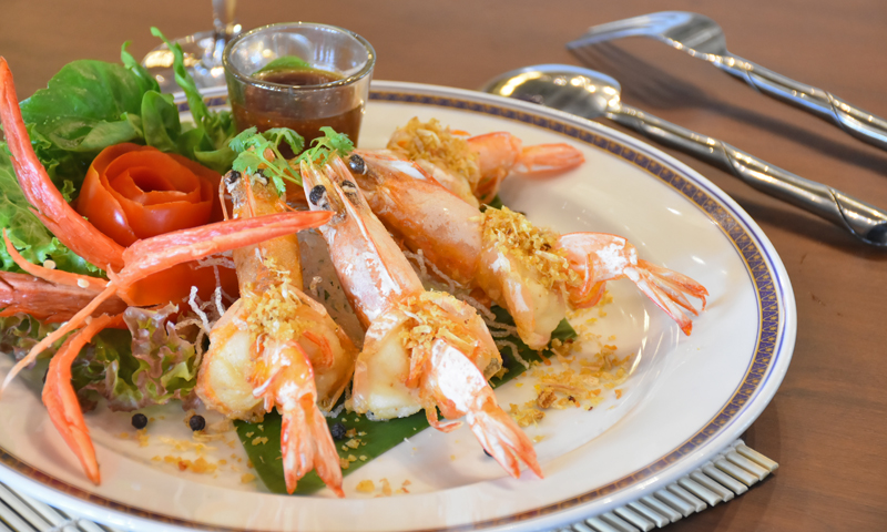 "Promotion: Taste of ""Shrimp Garlic & Pepper"", Deevana Patong Resort & Spa"