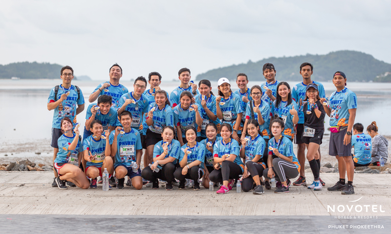 Novotel Phuket Phokeethra participates in the sponsorship of the 'Bangkok Airways Phuket Half Marathon 2019'