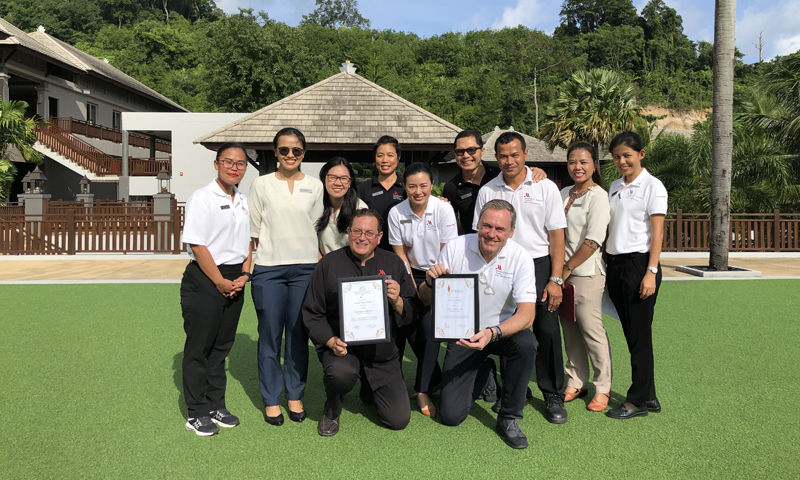 Phuket Marriott Resort and Spa, Nai Yang Beach Wins Two Prestigious Honors at the World Luxury Spa and Restaurant Awards
