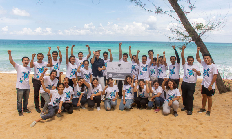 JW Marriott Phuket scoops up 2019 Asia Pacific Member's Favourite Award
