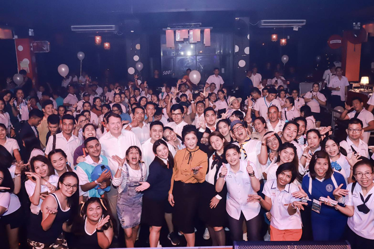 Work Hard, Play Hard- AKSARACollection's Annual Team Member Party 2019 at SOD Signature Pub & Restaurant,Phuket