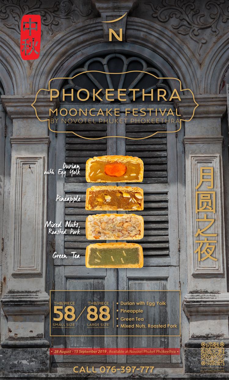 Phokeethra's Mooncake Festival 2019 by Novotel Phuket Phokeethra