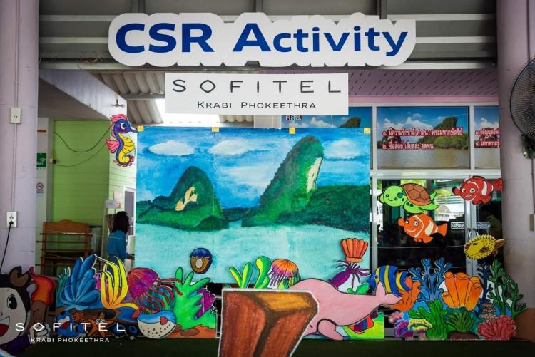 Sofitel Krabi Phokeethra Golf & Spa Resort hosted its annual 'CSR' Activity at the Krabi Special Education Center