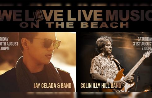 We Love Live Music On The Beach This Weekend!