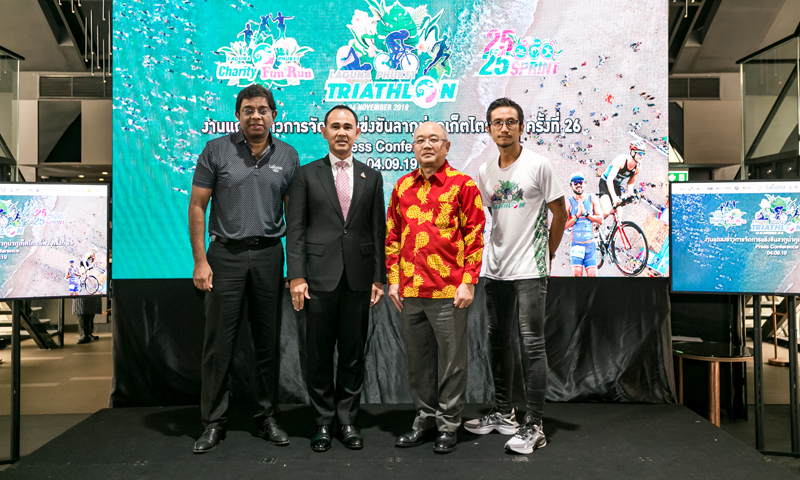 26th Laguna Phuket Triathlon Previewed in Bangkok