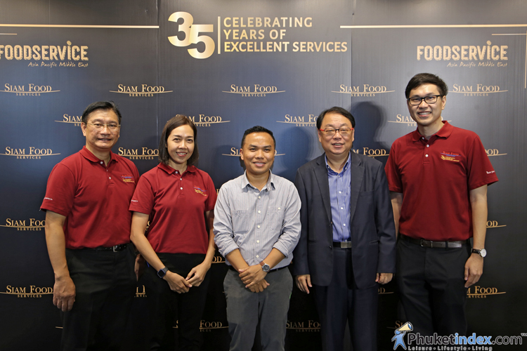 Siam Food Services celebrate 35 Years in Thailand's Premium Food Business
