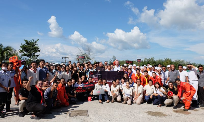 Phuket Marriott Resort and Spa, Nai Yang Beach Reinforces Guest Safety with Fire Education Session and Resort Evacuation