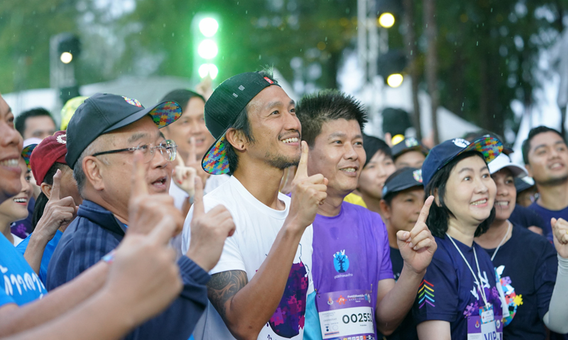 "Laguna Phuket Hosts Massive ""Kao Kon La Kao"" Charity Run"