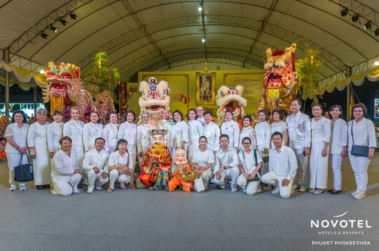 The annual Vegetarian Festival Parade in Phuket saw both locals and tourists participating in an evening of fun-filled rituals