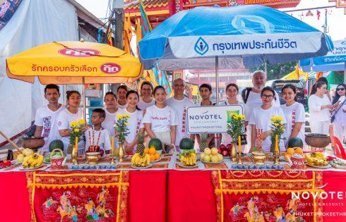 As part of the celebrations for Phuket Vegetarian Festival, Novotel Phuket Phokeethra and ibis