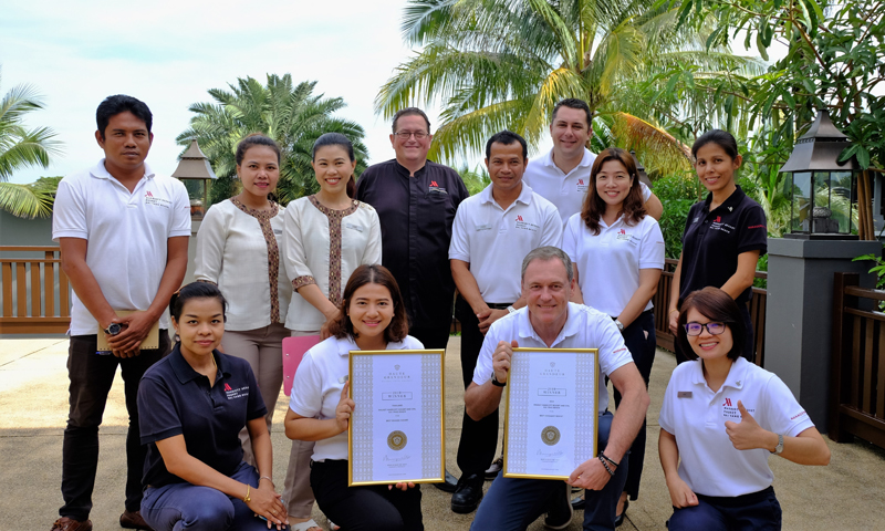 Phuket Marriott Resort and Spa, Nai Yang Beach Continues Winning Streak with Two Major Honors at 2019 Haute Grandeur Global Awards