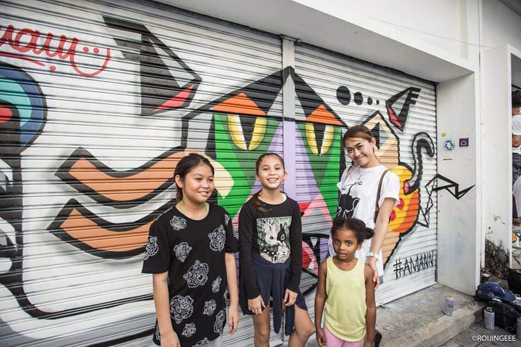 Phuket to experience full-on Hip Hop culture through graffiti and rap battles at Yakyai Market