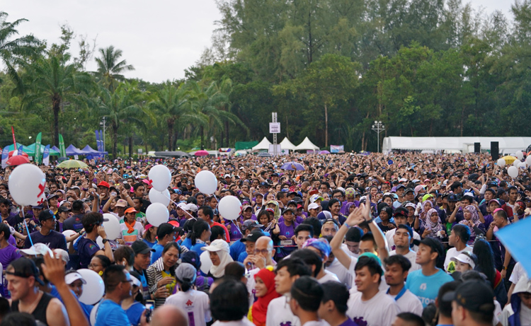 Laguna Phuket Reinforces Status as MICE Leader in Southeast Asia Largest Mass Participation Event Drew Over 13,000 People