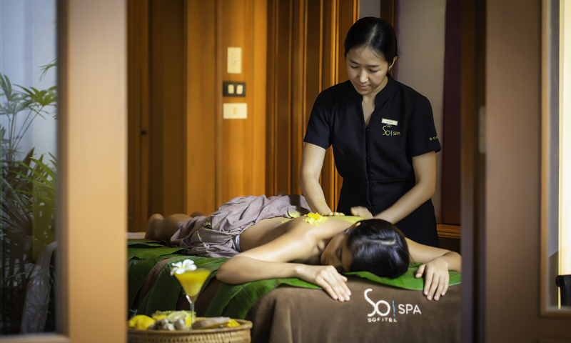 So Spa with L'Occitane Promotion on October 2019 at Sofitel Krabi