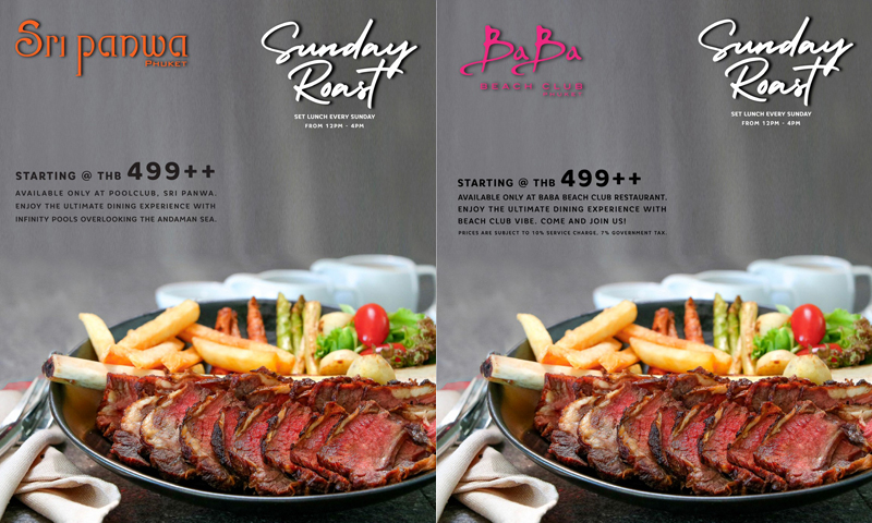Sunday Roast at Sri panwa & Baba Beach Club Phuket