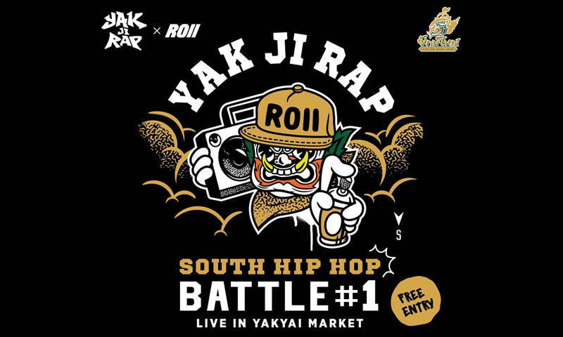 Phuket to experience full-on Hip Hop culture through graffiti and rap battles at Yakyai Market