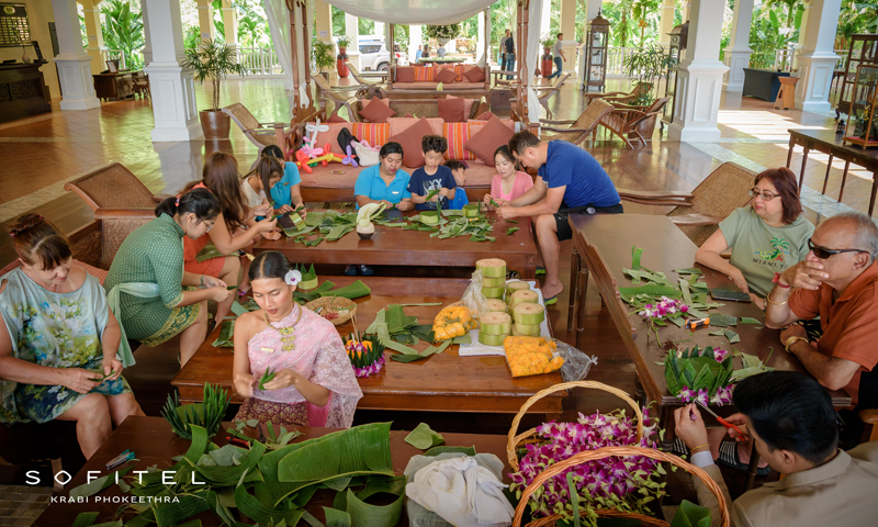 Sofitel Krabi hosted activities to commemorate the picturesque  Thai festival of Loy Krathong