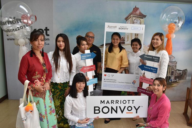 9 Marriott hotels & resorts in Andaman region kicks off The Marriott International Media Blitz 2019