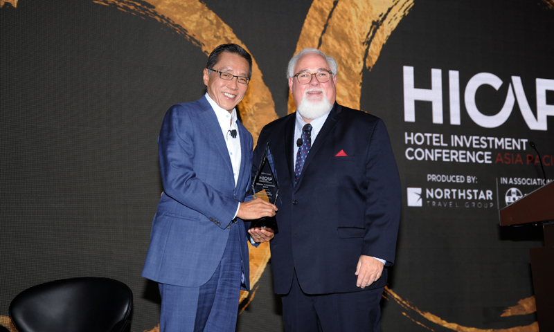 Banyan Tree Holdings Founder Mr Ho Kwon Ping Conferred Prestigious HICAP Lifetime Achievement Award