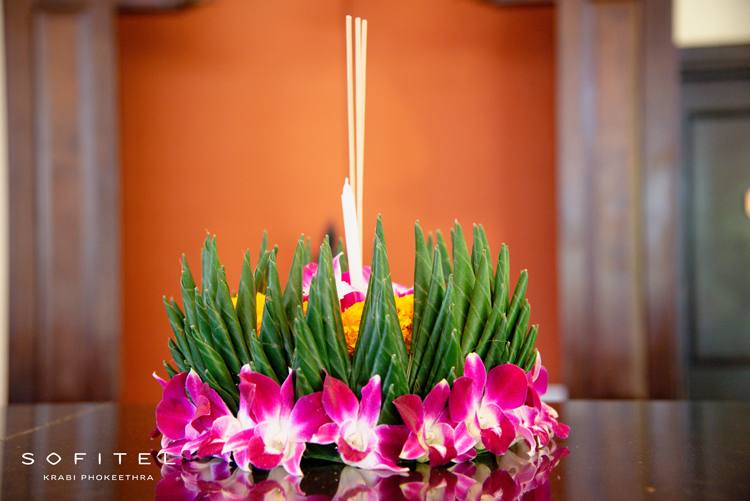 Sofitel Krabi Phokeethra Golf & Spa Resort hosted activities to commemorate the picturesque Thai festival of Loy Krathong