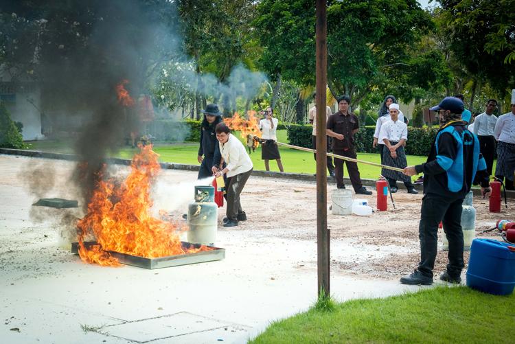 Annual Fire Drill 2019 at Sofitel Krabi Phokeethra Golf & Spa Resort