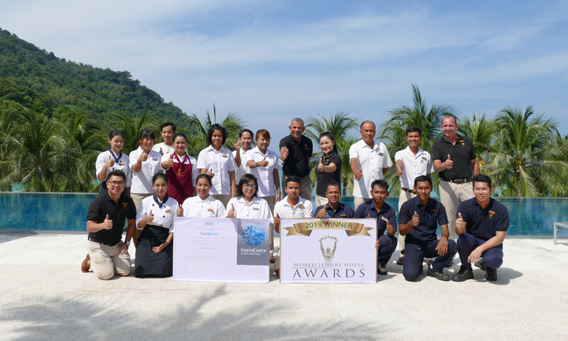 The Racha is Asia's Top Luxury Island Resort 2019