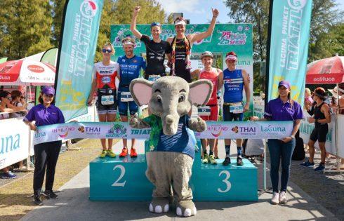 Wild Swiss Domination at 26th Laguna Phuket Triathlon