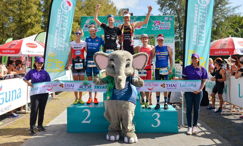 Wild Swiss Domination at 26th Laguna Phuket Triathlon