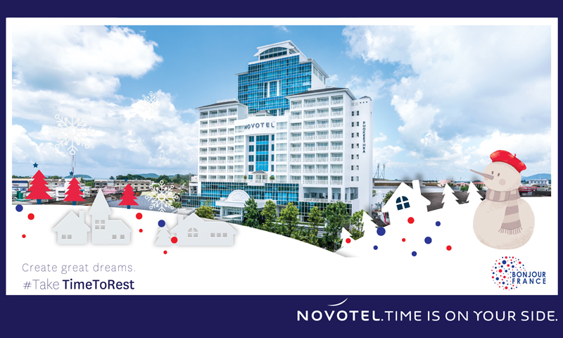 Novotel Phuket Phokeethra will be showcasing promotional offers at the third edition of Bonjour France 2019