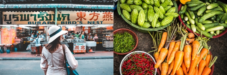 How to Eat Like a Local and Stay Healthy While  Travelling to Asia's Street Food Destinations