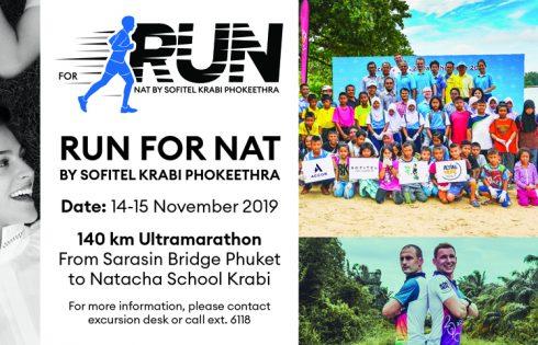 Run for NAT Association By Sofitel Krabi Phokeethra Golf & Spa Resort
